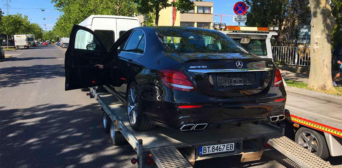 международен превоз на автомовил Mercedes-Benz